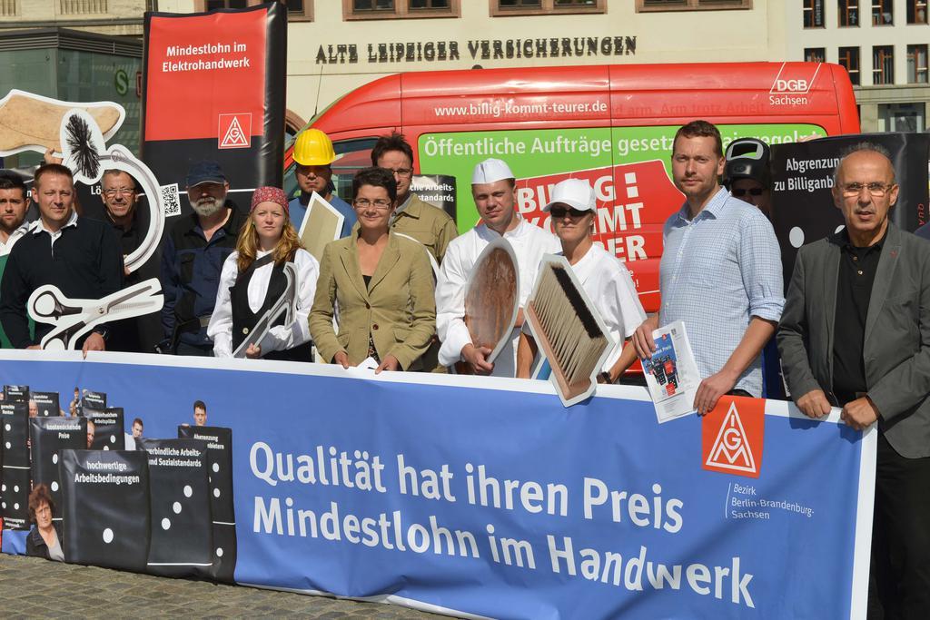 Metaller konfrontieren FDP mit Mindestlohn :: IG Metall ...